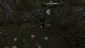 Spriggans are kinda fuzzy bunnies, so... makes sense to be a spriggan for Easter!