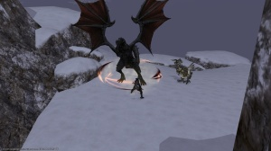 Dragoon Action Shot