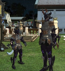 Back at 45 I ran into an FC-mate who was 49.  Odd how our gear looks so very similar.  Or not since at 45 you get the class set and there's only 1 chest piece worth wearing until 50.....
