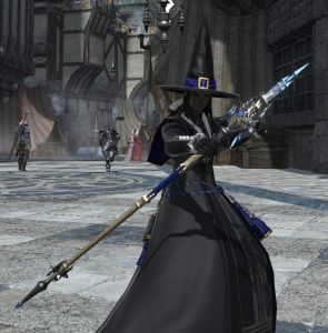 I glamored it to look like this staff from The Vault, though.