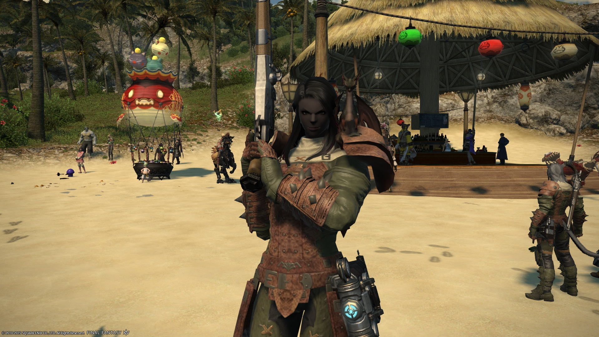 blaugust day 15 ffxiv working on machinist nomadic gamers