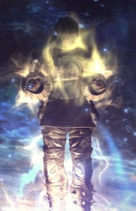 Apparently this is what it looks like when you open your chakra.