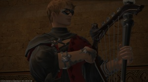 You assist this wandering minstrel during the event fate.