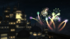 Fireworks over Ul'dah