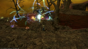 Hinterlands FATEs scaled up and were taking a long time, so our group moved to Azys Lla instead