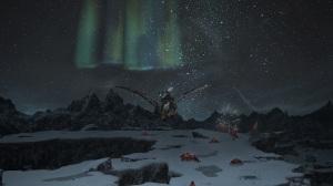 An aurora in Coerthas Western Highlands