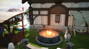 We got a new firepit at our FC house