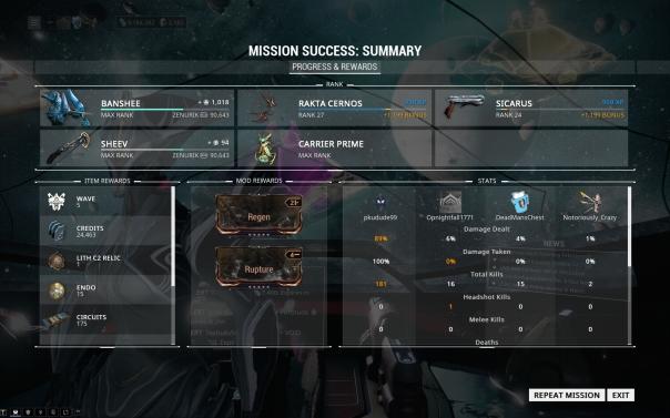 Warframe] Progress Continues | Nomadic Gamers