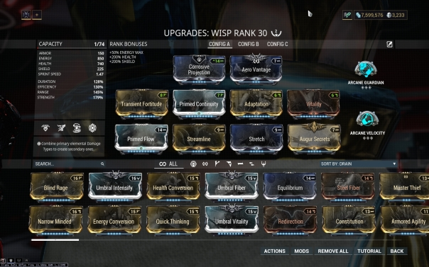 Warframe] [SWTOR] [Tera] Wisp + Yes, it really says SWTOR